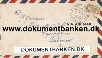 Colombia. Air Mail kuvert 1948.