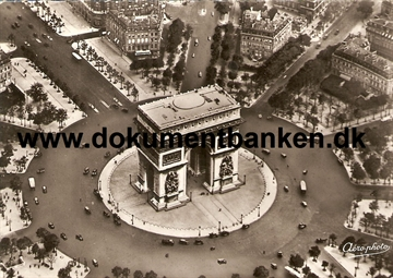 Paris, L'Arc de Triomphe, Carte Postale