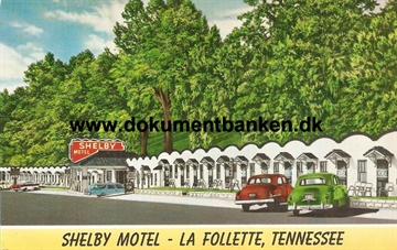 Shelby Motel, La Follette, Tennessee, USA, Post Card