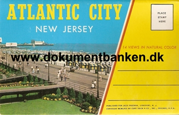 Atlantic City, New Jersey med 14 views in color