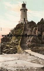 La Corbiere Lighthouse. Jersey