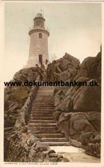 Corbiere Lighthouse. Close view. Jersey