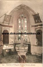 Princes Tower. Interior of Chapel. Jersey.