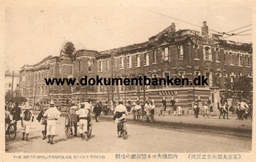 The Metropolitanpolice Board. The great earthquake Tokyo 1 september 1923