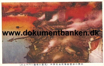The great earthquake and fire of Yokohama. 1 september 1923