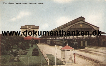 Houston. Grand Central Depot, Texas