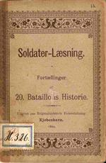 Soldater-læsning 20. bataillons Historie - 1894